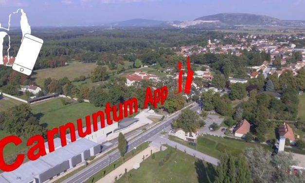 Augmented Reality Application at Carnuntum, Austria
