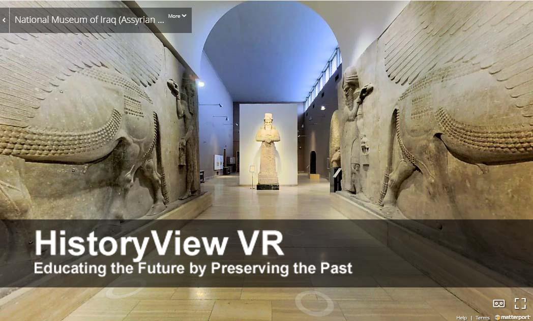 HistoryView VR – Interactive 3D platform