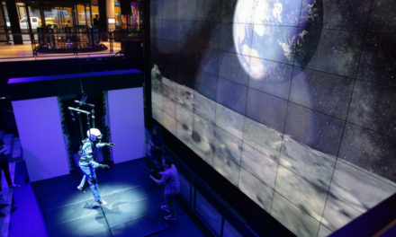 4D Lunar Gravity VR Experience