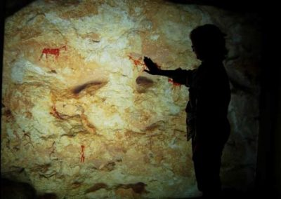 """We hunters"" – interactive digital experience at the ""abrics de l'ermita"" center for the interpretation of rock art (Ulldecona, Catalonia)"