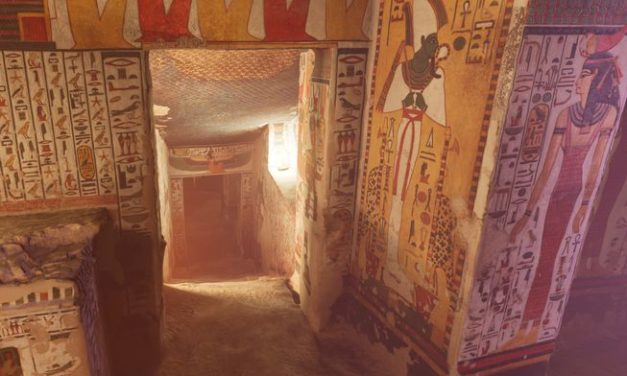 See Egypt's most beautiful tomb come to life