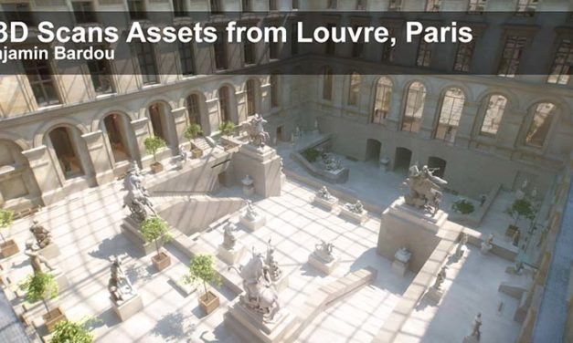25 FREE 3D scans from Louvre Museum, Paris