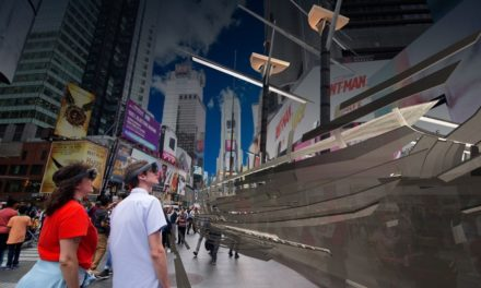 Immersive Art Experience at Times Square in New York