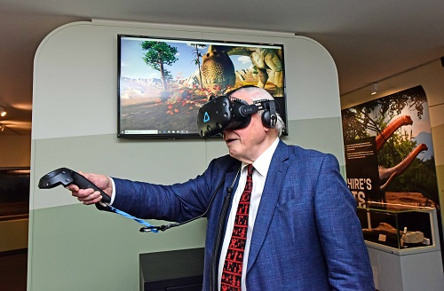 An epic journey back through 150 million years of Yorkshire with the help of Virtual Reality at the Yorkshire Museum