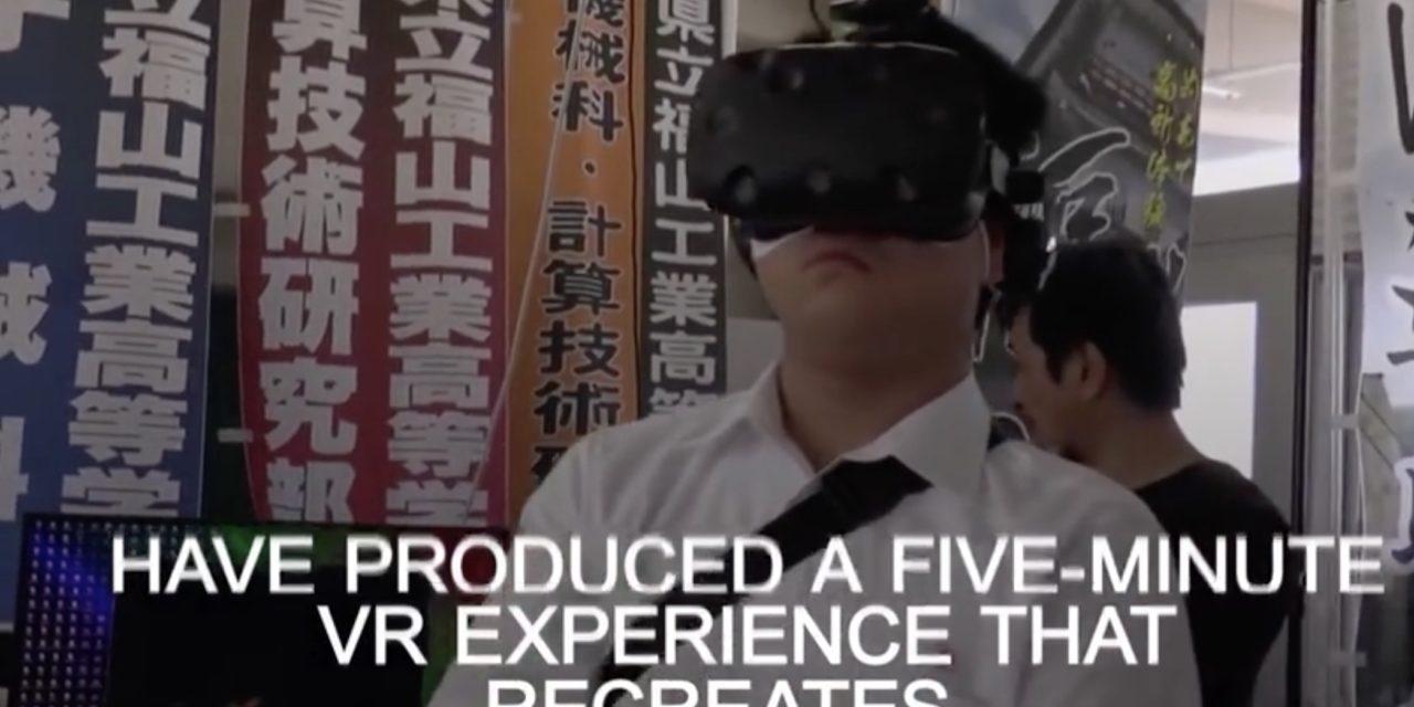 Japanese students produce virtual reality experience of Hiroshima