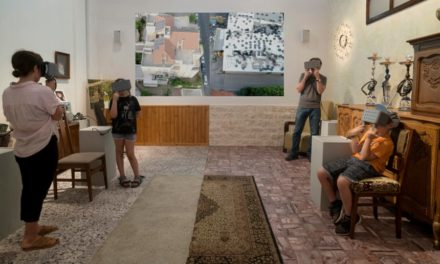 Israelis experience Palestinian home life in virtual reality