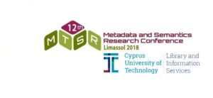 12th International Conference on Metadata and Semantics Research @ Panos Solomonides Cultural Centre