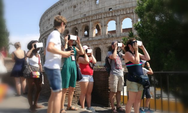 AN IMMERSIVE AND WALKING VIRTUAL ROME TOUR