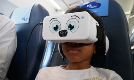 SkyLights Launches Virtual Reality IFE Service for Kids on Long-Haul Flights