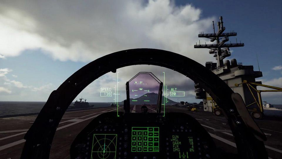 The Virtual Reality Mode In 'Ace Combat 7' Looks Amazing