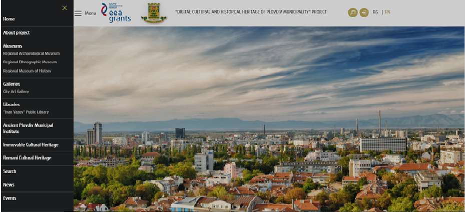 Digitizing Cultural Heritage in the Municipality of Plovdiv, Bulgaria