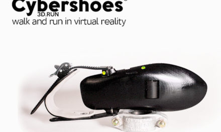 Cybershoes -moving naturally in VR space