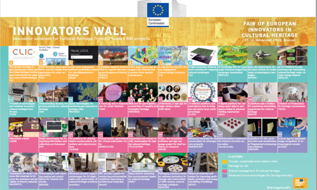 The Fair of European Innovators in Cultural Heritage