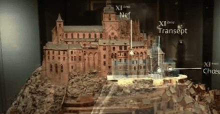 Microsoft's HoloLens Morphs Paris Museum Model of Mont-Saint-Michel into Masterpiece of AR