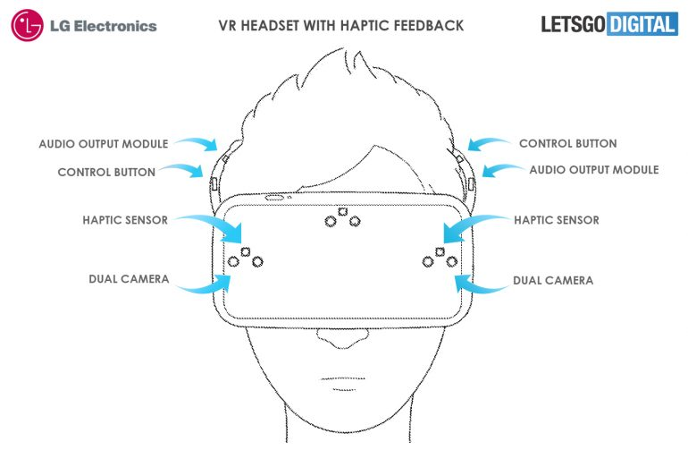 Hand tracking built directly into the headset.