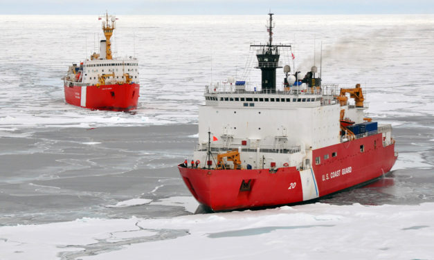 AR technology will contribute to safe Arctic ship navigation