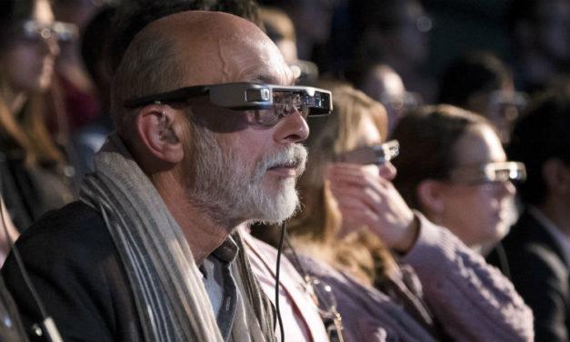 Smart Caption Glasses, National Theatre, Accenture, Epson