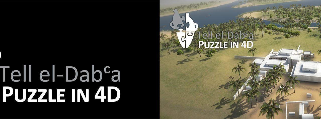 VR Reconstruction of Tel-el-Daba, a Puzzle in 4D
