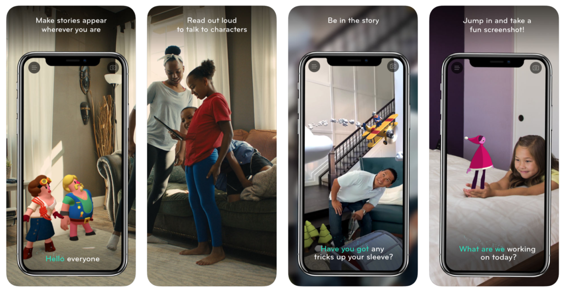 'Wonderscope' App Provides Reading Education Through AR Storytelling