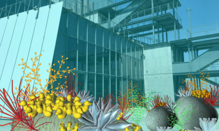 An AR Installation Submerges the Whitney Museum in a Coral Reef of Plastic Debris