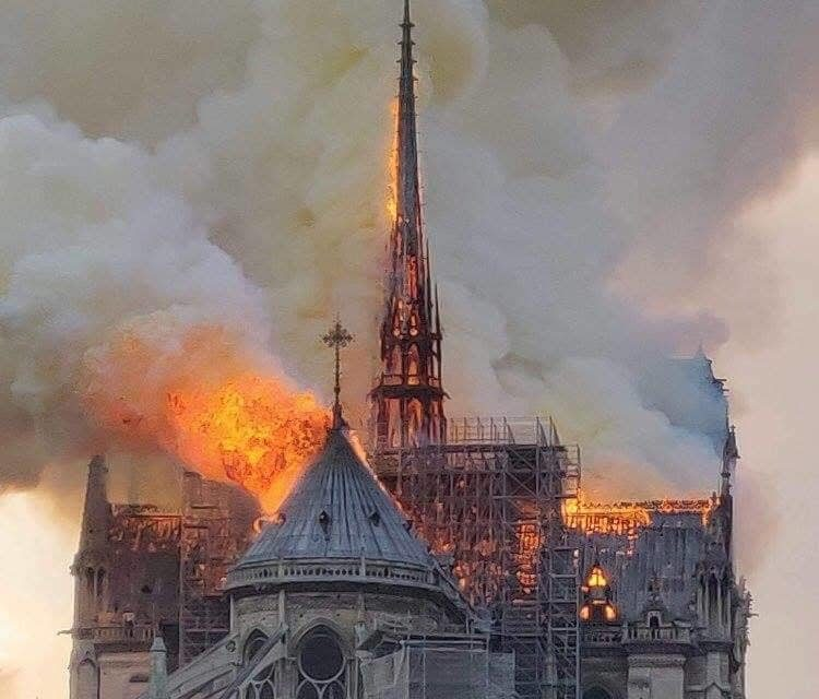 Notre Dame is still alive!
