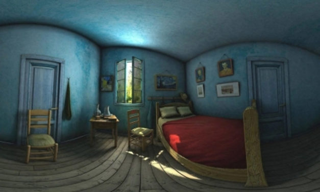 Step Into Van Gogh's Bedroom With ARLOOPA