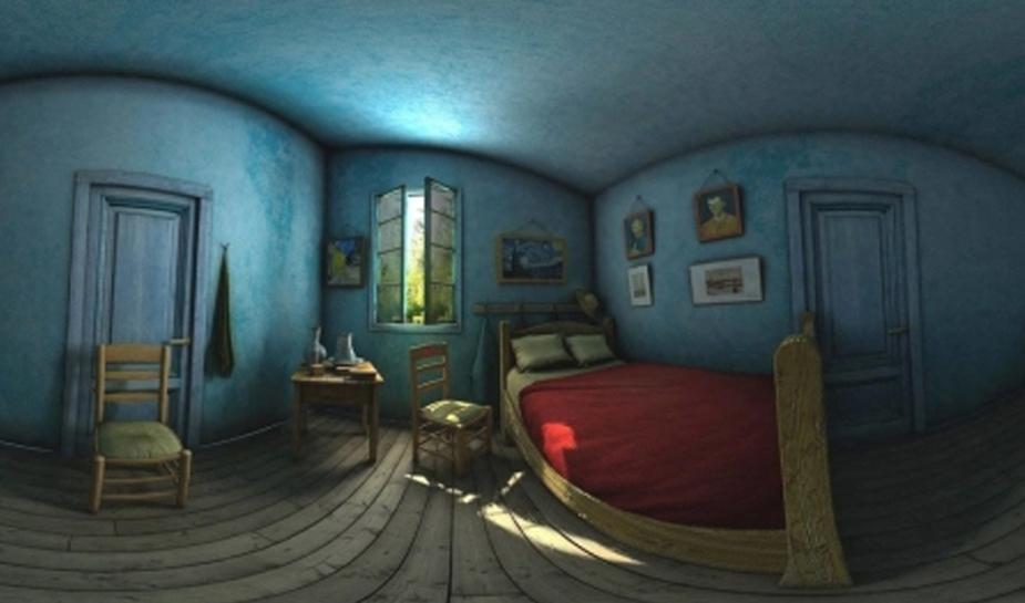 Step Into Van Gogh's Bedroom With ARLOOPA