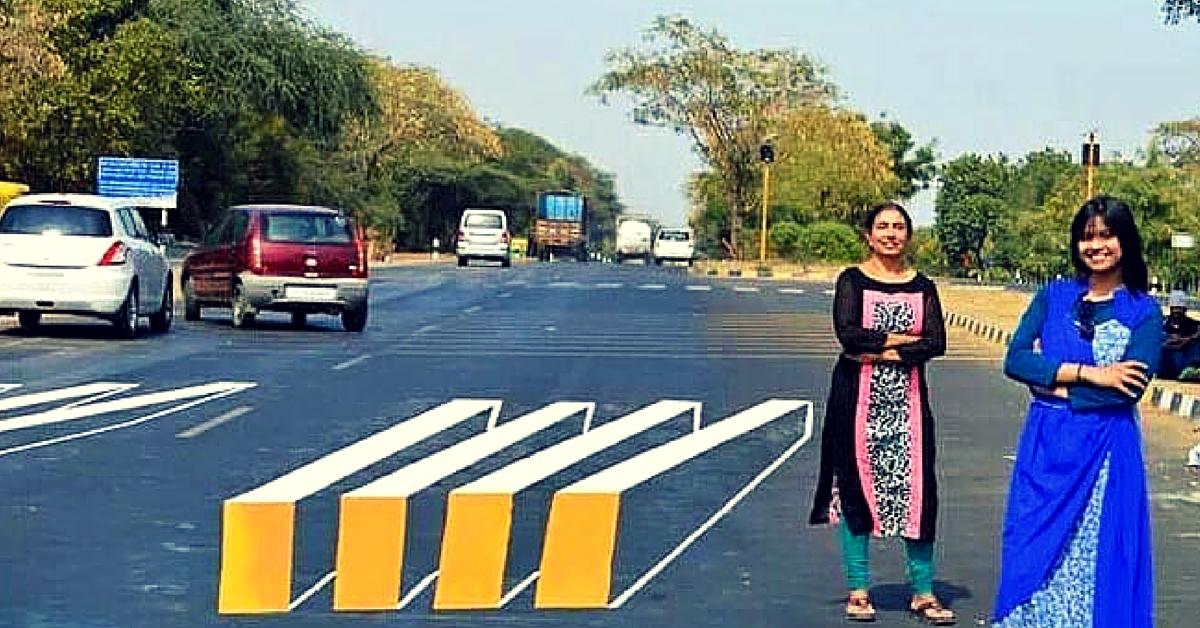Indian Women invented Virtual spead breakers