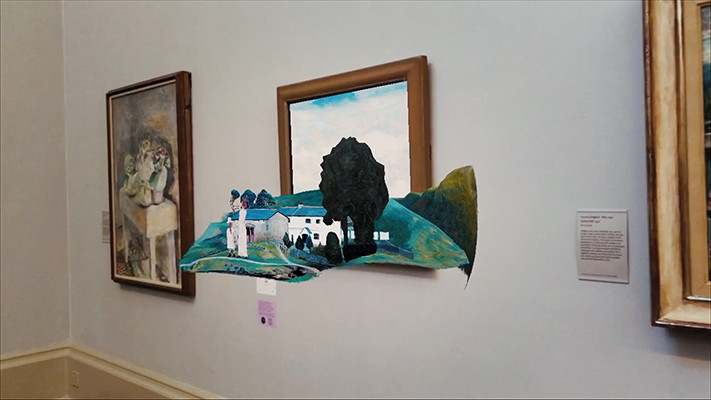 Facebook Creates 'Virtual Wing' Art Exhibit at the Tate Museum in London, Powered by Spark AR