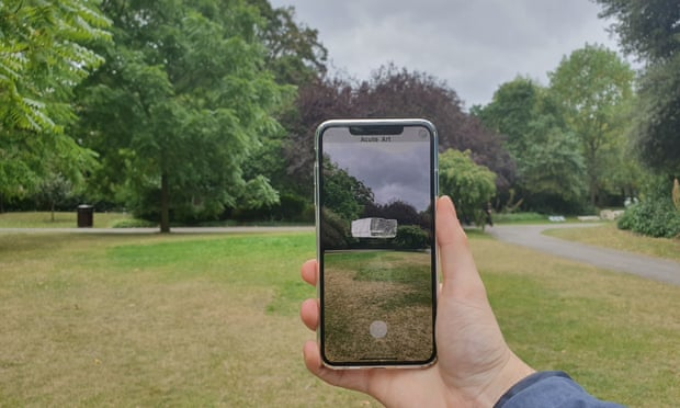 Frieze London installs its first augmented reality work