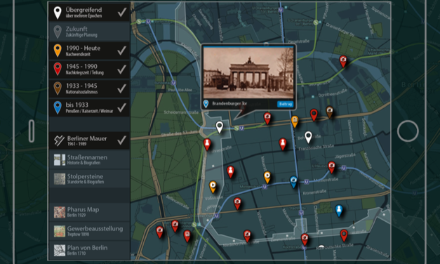 If you visit Berlin – Get the berlinHistory.App!