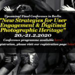 New Strategies for user angagement & digitised photographic heritage
