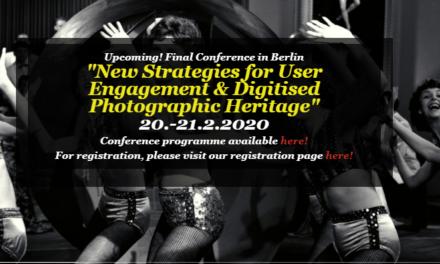 New Strategies for user angagement & digitised photographic heritage