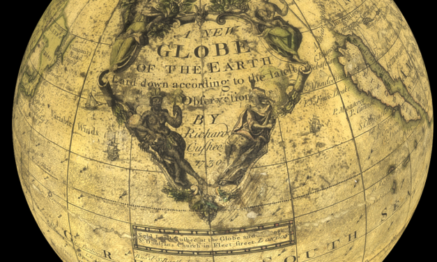 3D Interactive Globes 17th and 18th Century